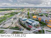 Купить «Промышленная зона города, Тюмень», фото № 7530272, снято 19 мая 2015 г. (c) Сергей Буторин / Фотобанк Лори