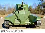 Советский танк БТ-2 (2015 год). Редакционное фото, фотограф Юрий Винокуров / Фотобанк Лори