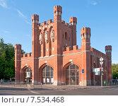 Купить «Королевские ворота. Калининград, Кёнигсберг до 1946», эксклюзивное фото № 7534468, снято 7 июня 2015 г. (c) Svet / Фотобанк Лори