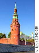 Водовзводная (Свиблова) башня в Кремле. Стоковое фото, фотограф Ковалев Василий / Фотобанк Лори