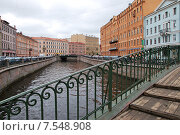 Санкт-Петербург. Канал Грибоедова (2010 год). Редакционное фото, фотограф Дмитрий Муромцев / Фотобанк Лори