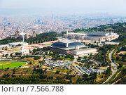 Купить «Olimpic area of Montjuic. Barcelona», фото № 7566788, снято 1 августа 2014 г. (c) Яков Филимонов / Фотобанк Лори