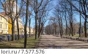 Купить «Александровский Сад, таймлапс в движении», видеоролик № 7577576, снято 31 мая 2015 г. (c) Кирилл Трифонов / Фотобанк Лори
