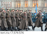 Купить «Парад 7 ноября на Красной площади. Москва», фото № 7579576, снято 7 ноября 2013 г. (c) Free Wind / Фотобанк Лори