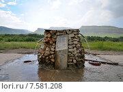 Минеральная вода. Источник. Домбай. Стоковое фото, фотограф Анна Алексеева / Фотобанк Лори