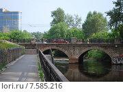 Царский мост в Екатеринбурге (2015 год). Редакционное фото, фотограф Евгений Кузнецов / Фотобанк Лори