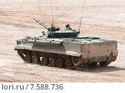 Купить «БМП-3. Боевая машина пехоты на полигоне», эксклюзивное фото № 7588736, снято 17 июня 2015 г. (c) Алексей Бок / Фотобанк Лори