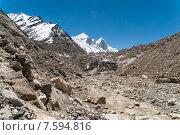 Купить «Исток реки Ганга, ледник Гомукх, Индия», фото № 7594816, снято 16 мая 2012 г. (c) Александр Шутов / Фотобанк Лори