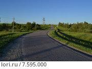 Сельская дорога. Стоковое фото, фотограф Ирина Кондаурова / Фотобанк Лори