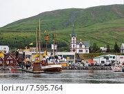 Северный морской город (2013 год). Редакционное фото, фотограф Павел Нефедов / Фотобанк Лори
