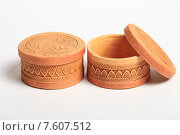 Купить «Шкатулки из бересты», эксклюзивное фото № 7607512, снято 22 июня 2015 г. (c) Яна Королёва / Фотобанк Лори