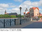 Купить «Калининград, рыбная деревня», эксклюзивное фото № 7611936, снято 4 июня 2015 г. (c) Svet / Фотобанк Лори