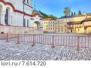 Купить «Абхазия. Новоафонский Симоно-Кананитский монастырь», фото № 7614720, снято 26 апреля 2015 г. (c) Parmenov Pavel / Фотобанк Лори