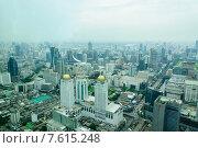 Бангкок с высоты. Редакционное фото, фотограф Виталий Булыга / Фотобанк Лори