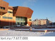 Купить «Салехард, культурно-деловой центр», фото № 7617000, снято 10 ноября 2010 г. (c) Елена Боброва / Фотобанк Лори