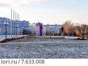 Купить «Парк Нефтехимиков. Нижнекамск», эксклюзивное фото № 7633008, снято 25 ноября 2014 г. (c) Сергей Лаврентьев / Фотобанк Лори