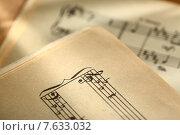 Купить «Classical music notes», фото № 7633032, снято 13 августа 2012 г. (c) Ярочкин Сергей / Фотобанк Лори