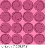 Розовые круги со спиралями. Стоковая иллюстрация, иллюстратор Bellastera / Фотобанк Лори