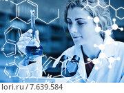 Composite image of science graphic. Стоковое фото, агентство Wavebreak Media / Фотобанк Лори