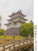 Купить «Донжон замка Оси в г. Гёда, префектура Сайтама, Япония. Построен в 1478 г. Нарита Акиясу, реконструирован в 1988 г.», фото № 7643356, снято 24 мая 2015 г. (c) Иван Марчук / Фотобанк Лори