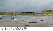 Sally's Cove Coastline, Gulf of St. Lawrence, Gros Morne National Park, Newfoundland and Labrador, Canada. Стоковое фото, фотограф Keith Levit / Ingram Publishing / Фотобанк Лори