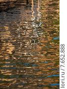 Купить «Rippled water reflections, Lake of The Woods, Ontario, Canada», фото № 7652888, снято 20 июля 2013 г. (c) Ingram Publishing / Фотобанк Лори