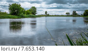 Тихая река. Стоковое фото, фотограф Vladimir Veseliy / Фотобанк Лори