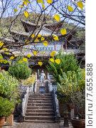 Купить «Красивый китайский сад», фото № 7655888, снято 1 ноября 2014 г. (c) Василий Кочетков / Фотобанк Лори