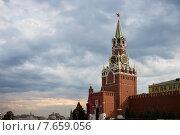 Спасская башня Московского Кремля (2015 год). Стоковое фото, фотограф Малахов Алексей / Фотобанк Лори