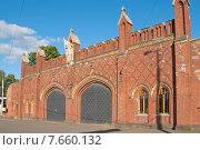 Купить «Фридландские ворота, Калининград (до 1946 года Кёнигсберг), Россия», эксклюзивное фото № 7660132, снято 15 июня 2015 г. (c) Svet / Фотобанк Лори