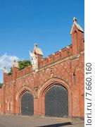 Купить «Фридландские ворота,  Калининград (до 1946 года Кёнигсберг), Россия», эксклюзивное фото № 7660160, снято 15 июня 2015 г. (c) Svet / Фотобанк Лори