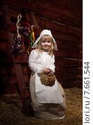 Купить «Маленькая Золушка», фото № 7661544, снято 23 февраля 2013 г. (c) Ирина Солошенко / Фотобанк Лори
