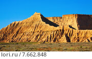 cliffs at semi-desert landscape. Стоковое фото, фотограф Яков Филимонов / Фотобанк Лори