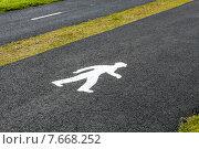 Пешеход. Стоковое фото, фотограф Евгения Теленная / Фотобанк Лори