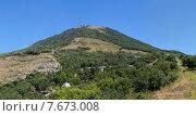 Купить «Гора Машук. Пятигорск.», фото № 7673008, снято 2 августа 2014 г. (c) Nikolay Sukhorukov / Фотобанк Лори