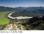 Купить «Река Катунь», фото № 7676188, снято 26 июня 2012 г. (c) Барковский Семён / Фотобанк Лори