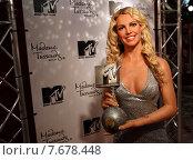 Berlin, Germany, Britney Spears at Madame Tussaud's Wax Museum (2010 год). Редакционное фото, агентство Caro Photoagency / Фотобанк Лори