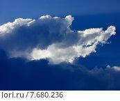 Купить «Солнце в облаках», фото № 7680236, снято 10 июля 2015 г. (c) Алексей Ларионов / Фотобанк Лори
