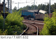 Купить «Hosena, Germany, in Brandenburg Eisenbahnunglueck», фото № 7681632, снято 27 июля 2012 г. (c) Caro Photoagency / Фотобанк Лори