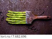 Спаржа кисть. Стоковое фото, фотограф Fadeev Dmitry / Фотобанк Лори