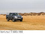 Купить «Mazda BT-50», фото № 7683180, снято 19 ноября 2014 г. (c) Art Konovalov / Фотобанк Лори