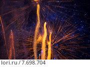 Купить «fireworks at night sky», фото № 7698704, снято 18 февраля 2018 г. (c) Яков Филимонов / Фотобанк Лори