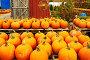 Pumpkins for sale, фото № 7699468, снято 18 октября 2014 г. (c) Николай Охитин / Фотобанк Лори