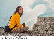 Купить «Resting beside an iceberg», фото № 7700508, снято 21 июля 2018 г. (c) PantherMedia / Фотобанк Лори