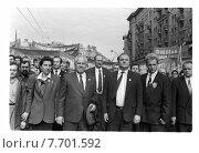 Купить «Геннадий Зюганов на митинге», фото № 7701592, снято 26 марта 2019 г. (c) Борис Кавашкин / Фотобанк Лори
