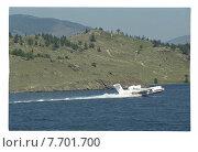 Купить «Самолет амфибия на Байкале», фото № 7701700, снято 25 февраля 2020 г. (c) Борис Кавашкин / Фотобанк Лори