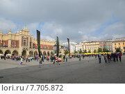 Краков. Рыночная площадь. (2013 год). Редакционное фото, фотограф Беличенко Анна Сергеевна / Фотобанк Лори