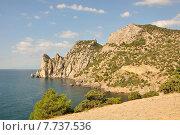 Гора Караул-Оба в Крыму. Стоковое фото, фотограф Андрей Борисов / Фотобанк Лори