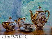 Чашка крепкого кофе   ранним утром (2015 год). Редакционное фото, фотограф Владимир Вдовиченко / Фотобанк Лори