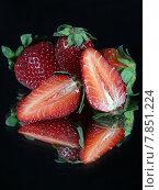 Купить «red summer fruits strawberry progenies», фото № 7851224, снято 15 декабря 2018 г. (c) PantherMedia / Фотобанк Лори